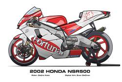 Honda NSR500 - 2002 Daijiro Kato
