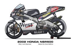 Honda NSR500 - 2002 Loris Capirossi