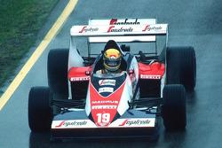 Ayrton Senna at San Marino GP in 1984