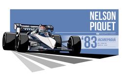 Nelson Piquet - 1983 Jacarepagua
