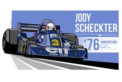 Jody Scheckter - 1976 Anderstorp