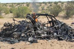 No. 318 Orlen Buggy burns