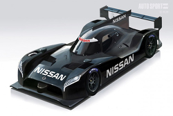 Rendering of the Nissan GT-R LMS