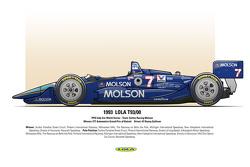 Winner: ITT Automotive Grand Prix of Detroit - Driver: #7 Danny Sullivan