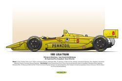 4th: Toyota Grand Prix of Long Beach - Driver: #8 Teo Fabi