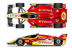 Indycar with canopy concept by Daniele Sanfilippo