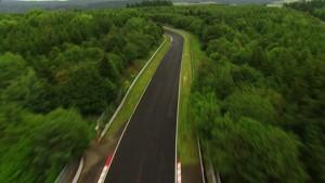 Renault Sport F1 drivers negotiate the Nordschleife