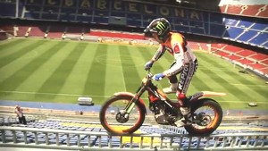 Spectacular trial riding with Toni Bou