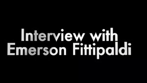 Emerson Fittipaldi talks with Jesse about the power of his Chevrolet Corvette
