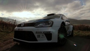 First test of the Rallye Polo R WRC