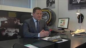 F1 Pirelli 2011 - Brazil - Paul Hembery Interview