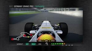 2011 Formula 1 German GP - 3D Simulation