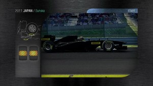 2011 Formula 1 Japanese GP - 3D Simulation
