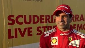 Gené rockets down the Doha sea front. Twenty thousand witness Ferrari's first appearance in Qatar