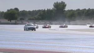 Eurocup Megane Trophy Paul Ricard News 2012 - Race 1