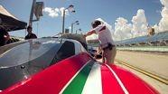 Practice run at Homestead-Miami Speedway