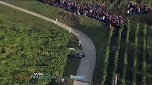 Solberg's Crash - 2012 WRC Rallye de France