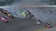 Chaotic finish Talladega Good Sam 500 Last Lap Big Wreck