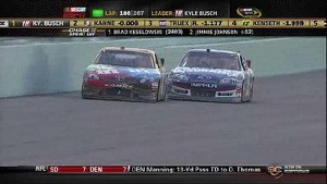 Kasey Kahne Vs. Kyle Busch - Homestead - 11/18/2012