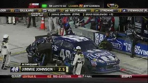 Johnson's Crew Makes Critical Mistake - Homestead - 11/18/2012