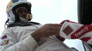 Nasser Al Attiyah after Leg I of Dubai Rally