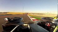 Circuit of the Americas laps aboard the Muscle Milk HPD Prototype
