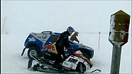 Race Touareg VS Snow Mobil