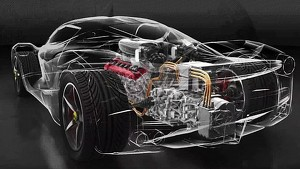 LaFerrari – focus on the HY-KERS