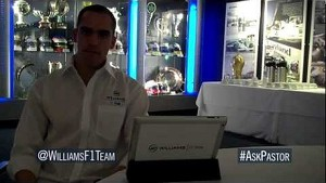 Pastor Maldonado previews the Australian GP by answering Twitter questions @WilliamsF1Team