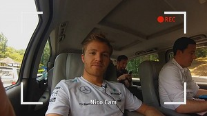 Nico Rosberg in the Rain Forest