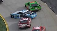 Harvick and Vickers post-race crash!!