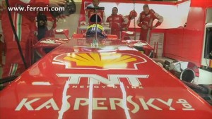 A lap with Felipe at Bahrain's circuit