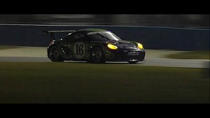 Grand AM Daytona 2013 - Porsche - Pushing till the very end