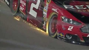Keselowski hits the wall at Richmond