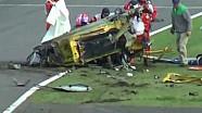 2013 Ferrari 458 Horror crash at Suzuka