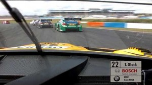 Onboard Timo Glock BMW M3 DTM - DTM Race Lausitzring