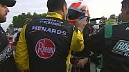 Max Papis SLAPS Billy Johnson! | Johnsonville Sausage 200, Road America 2013