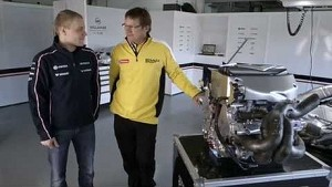Car features with Valtteri Bottas - Part 2 of 5 - Engine