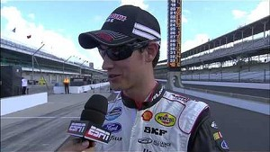 Post-race Interviews   Indiana 250, Indianapolis Motor Speedway (2013)