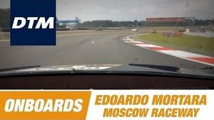 Onboard Edoardo Mortara Audi RS 5 DTM - DTM Race Moscow Raceway