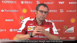 Korean Grand Prix - Stefano Domenicali, about race