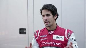 Lucas di Grassi on the new Audi R18 e-tron quattro