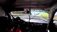 Porsche Crash Conrod Straight 2014 Liqui Moly Bathurst 12 Hour Practice - Replay XD