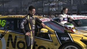 Revolutionary all-electric Nissan LEAF Nismo RC  on-track at Clipsal 500
