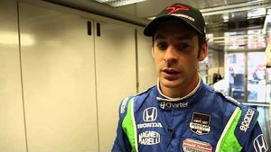 Simon Pagenaud talks about his qualifying session at Long Beach