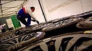 Last preparations before the start of the FIA WEC 2014 season