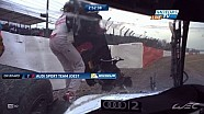 Benoit Treluyer crash, recovery and retirement 2014 WEC 6 Hours of Silverstone