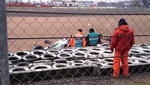 Audi's Benoit Treluyer crash - 2014 World Endurance Championship 6 Hours of Silverstone