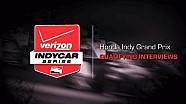 2014 Honda Indy Grand Prix: Qualifying Interviews