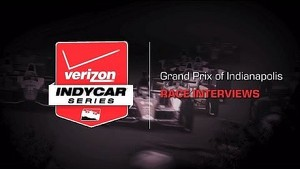 2014 Grand Prix of Indianapolis: Race Interviews